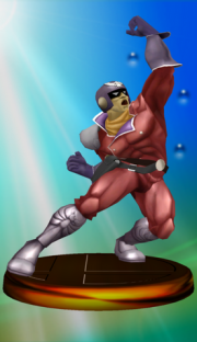 Captain Falcon Trophy (Smash 2).png